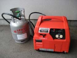 プロパン燃料式発電機