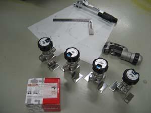 高圧ガス用ダイヤフラムバルブ