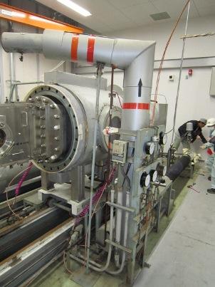 液化ガス保冷配管(簡易断熱)