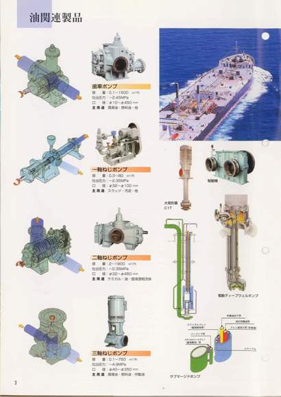 大型圧送ポンプ