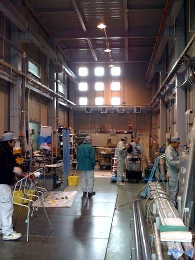 関西での配管工事・マニホールド自動溶接施行