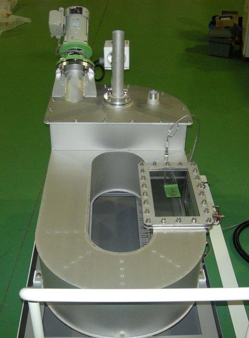 流速循環実験装置
