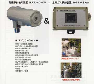 防爆型炎検知装置(H2用)