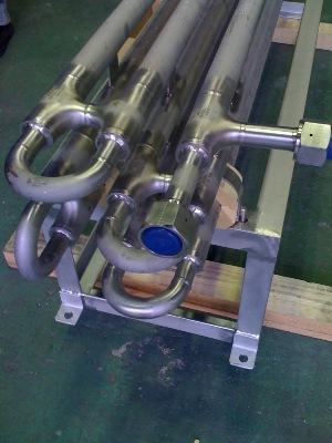 高圧ガス用SUS管 溶接加工