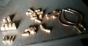 ガス機器 真鍮製作品ほか
