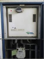 ガス給湯器の取付け位置について(技術編)