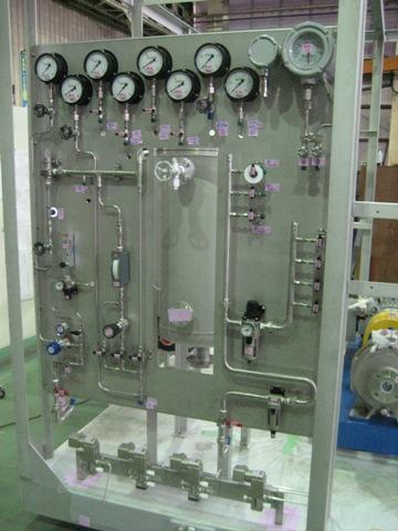 装置へのガス機器パネルマウント