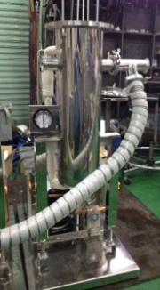 真空排気系コールドトラップ(溶媒、バインダー等)