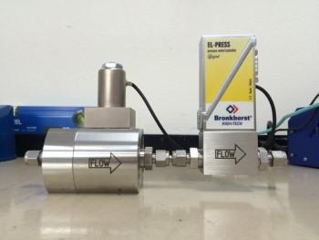 高圧ガスの自動圧力コントローラー 40MPa