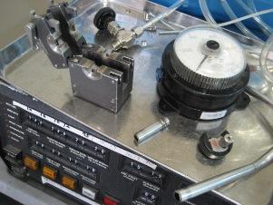 ガス配管の自動溶接施工