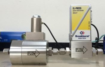 高圧ガスボンベ直結レギュレーターから代替可能な自動調圧コントローラー