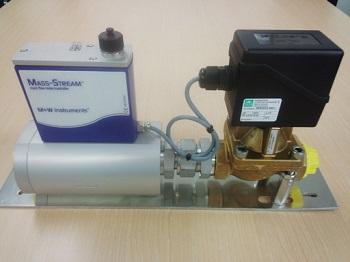 大流量&低差圧用マスフローコントローラ