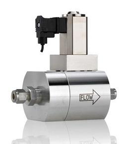 MFC/MFMの高圧用および高差圧バルブ