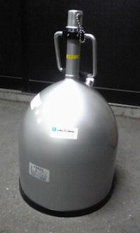 素人っぽいガスねた 「液体窒素容器」Part2