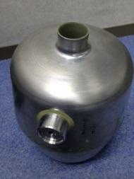 真空容器 カットオフバルブ