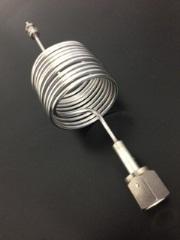 ガス配管~装置接続用スパイラル管