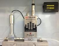 液体の定量コントロールシステム(ギヤポンプ+液体用MFM)