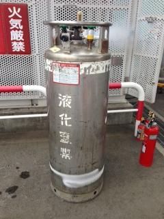 液体窒素容器の構造