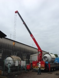 燃料ガスバルク容器の定期検査