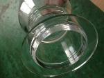 石英ガラス管  NW真空フランジ製作品