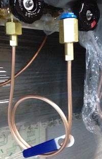 高圧ガスボンベ接続用「連結管」