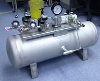 高圧タンク+ガス機器アッセンブリ
