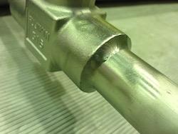 高圧ガス設備の溶接加工