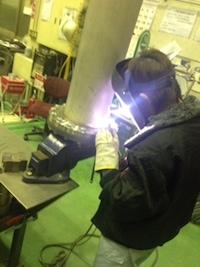 高圧ガス設備の認定品溶接施行