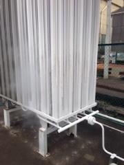 液体窒素、液体酸素などの蒸発器