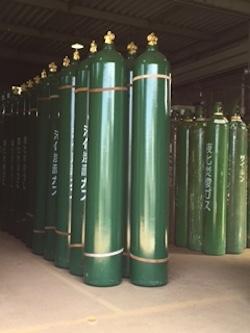 消火設備用炭酸ガスボンベ