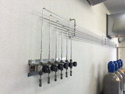 高圧ガス配管工事施工