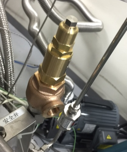 高圧ガス認定安全弁
