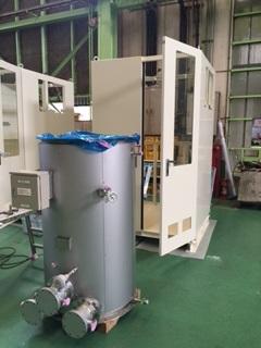 温水型熱交換 NH3蒸発器(べーパーライザー)