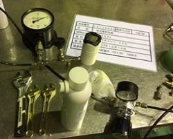 Z2329 発泡試験(漏洩検知液)