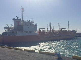 第4050号 LPG船積み船からの陸揚げ