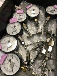 第4186号 圧力気密検査のトレーサビリティー付き圧力計