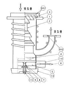 第4306号 油拡散ポンプの冷却水