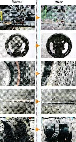 第4540号 ドライアイスブラスト洗浄例