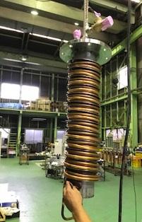 第4586号 二重三重の熱交換コイル