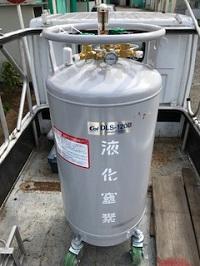 第4590号 SP120型 = DSL120型  自加圧型液体窒素容器
