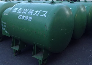 CO2  1ton可搬型容器