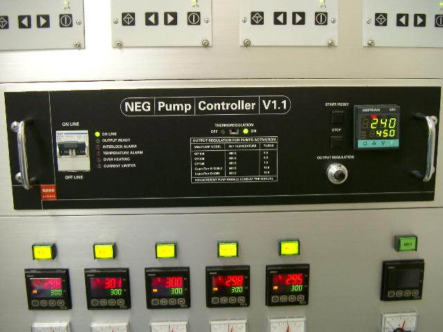 NEG 非蒸発型ゲッターポンプ