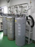 液体窒素用配管 (真空二重管)