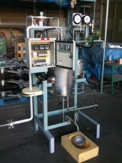 液体窒素ミニクーラー(過冷却設備) KHK認定設備