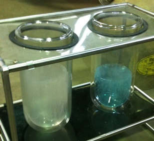 液体窒素と液体酸素
