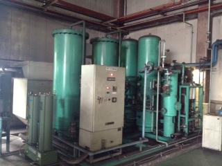 窒素ガス発生装置(窒素ガス製造装置)